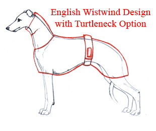 Wistwind warm up dog coats for Dog coat template